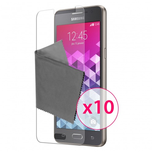 Clubcase ® 3H Ultra Clear HD screen protector for Samsung Galaxy Grand Prime 10-Pack