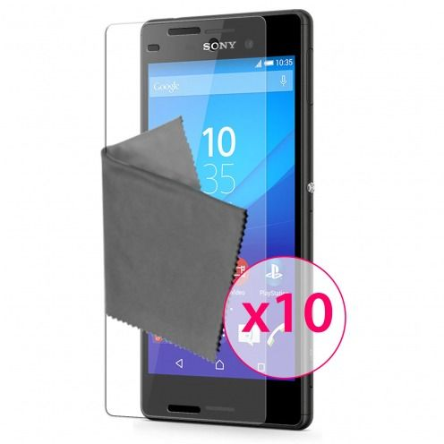Clubcase ® 3H Ultra Clear HD screen protector for Sony Xperia M4 Aqua 10-Pack