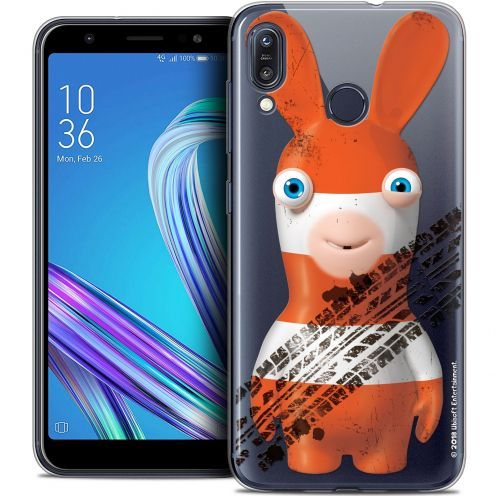 """Crystal Gel Asus Zenfone Max (M1) ZB555KL (5.5"""") Case Lapins Crétins™ On the Road"""