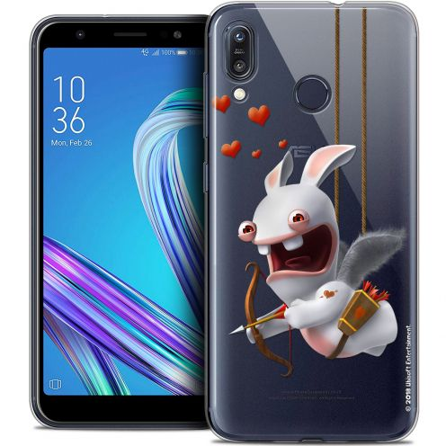 """Crystal Gel Asus Zenfone Max (M1) ZB555KL (5.5"""") Case Lapins Crétins™ Flying Cupidon"""