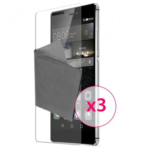 Clubcase ® 3H Ultra Clear HD screen protector for Huawei Ascend P8 3-Pack