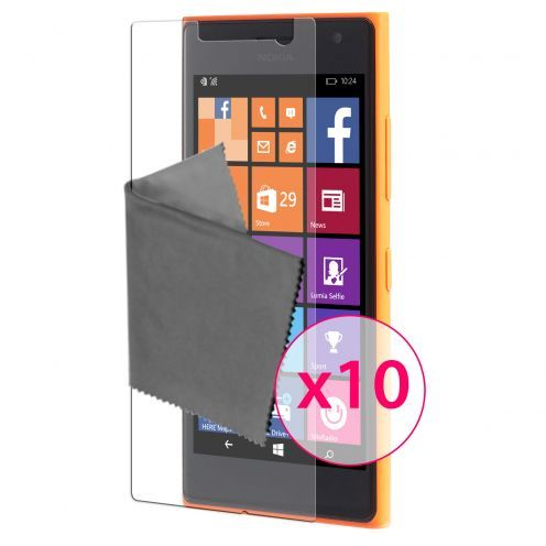 Clubcase ® 3H Ultra Clear HD screen protector for Microsoft Lumia 730/735 10-Pack