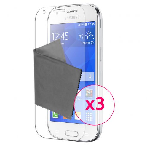 Clubcase ® 3H Ultra Clear HD screen protector for Samsung Galaxy Ace 4 3-Pack