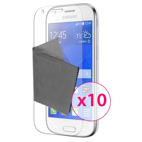 Clubcase ® 3H Ultra Clear HD screen protector for Samsung Galaxy Ace 4 10-Pack