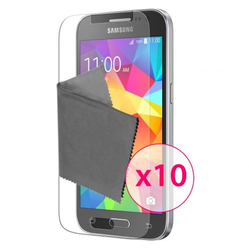 Clubcase ® 3H Ultra Clear HD screen protector for Samsung Galaxy Core Prime 10-Pack