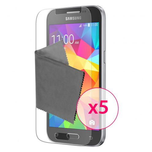 Clubcase ® 3H Ultra Clear HD screen protector for Samsung Galaxy Core Prime 5-Pack