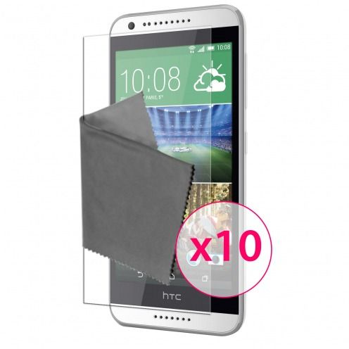 Clubcase ® 3H Ultra Clear HD screen protector for HTC Desire 620 10-Pack