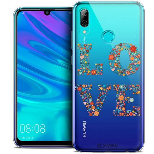 "Extra Slim Crystal Gel Huawei P Smart 2019 (6.21"") Case Summer Love Flowers"