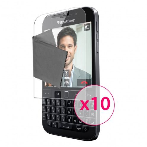 Clubcase ® 3H Ultra Clear HD screen protector for BlackBerry Q20 10-Pack