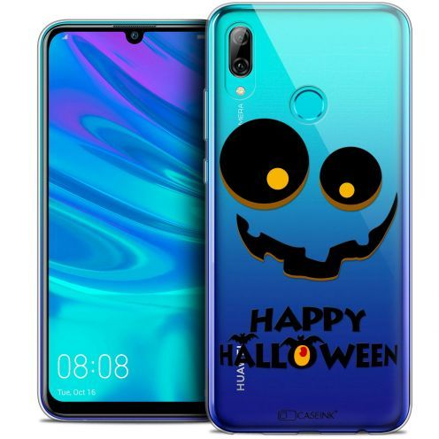 "Extra Slim Crystal Gel Huawei P Smart 2019 (6.21"") Case Halloween Happy"