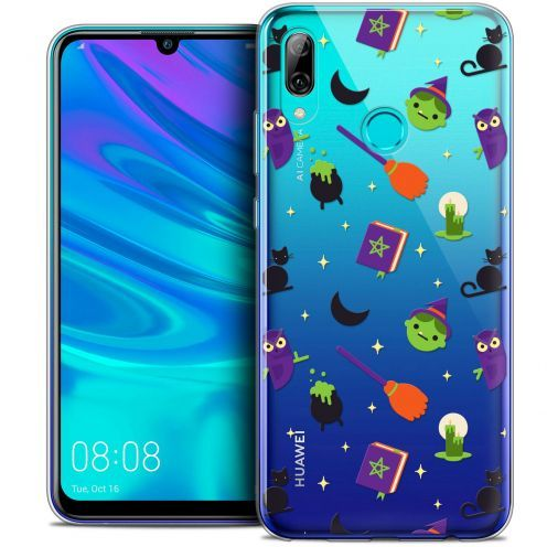 "Extra Slim Crystal Gel Huawei P Smart 2019 (6.21"") Case Halloween Witch Potter"