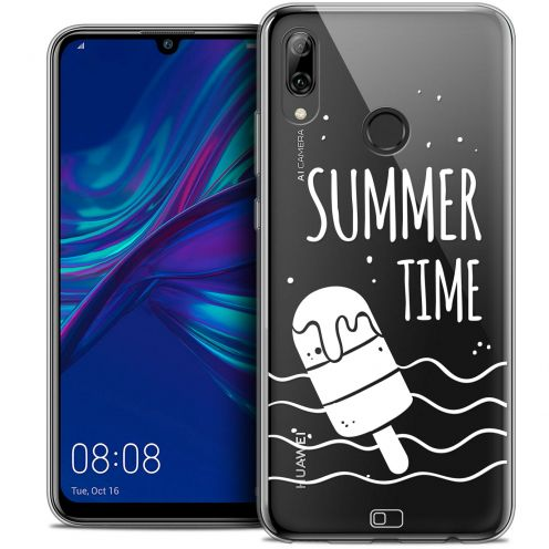 "Extra Slim Crystal Gel Huawei P Smart 2019 (6.21"") Case Summer Summer Time"