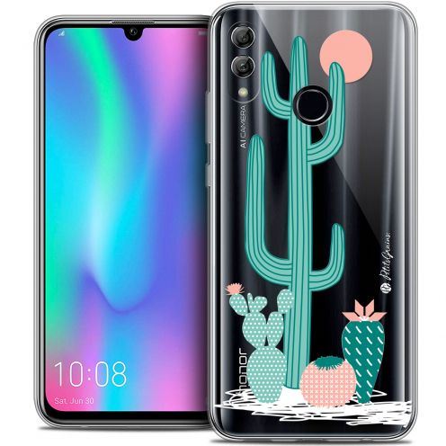 "Extra Slim Crystal Gel Huawei Honor 10 LITE (5.8"") Case Petits Grains® A l'Ombre des Cactus"