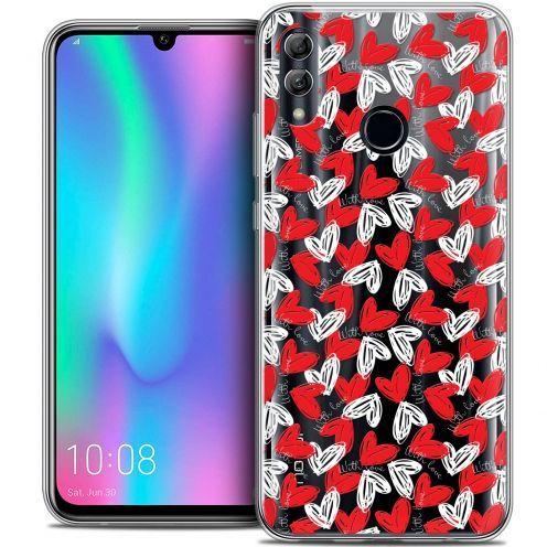 "Extra Slim Crystal Gel Huawei Honor 10 LITE (5.8"") Case Love With Love"