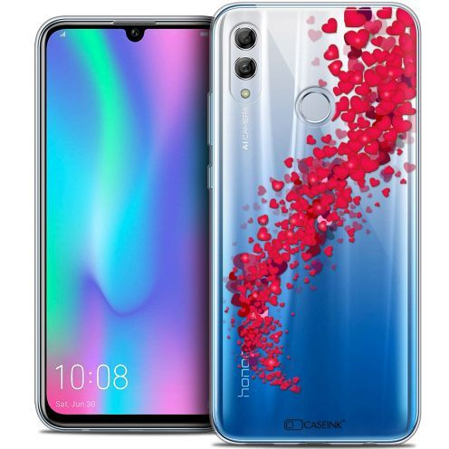 "Extra Slim Crystal Gel Huawei Honor 10 LITE (5.8"") Case Love Tornado"