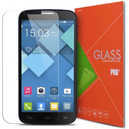 Glass Pro+ Ultra HD 9H 0.33 mm Tempered Glass Screen Protector for Alcatel OneTouch C7