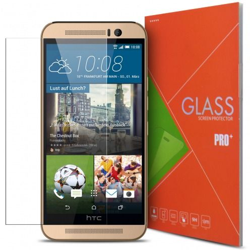 Glass Pro+ Ultra HD 9H 0.33 mm Tempered Glass Screen Protector for HTC One M9