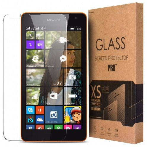 Glass Pro+ Ultra HD 9H 0.33 mm Tempered Glass Screen Protector for Microsoft Lumia 540