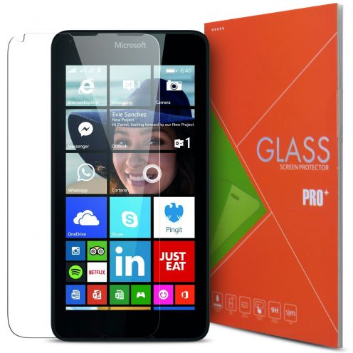Glass Pro+ Ultra HD 9H 0.33 mm Tempered Glass Screen Protector for Microsoft Lumia 640