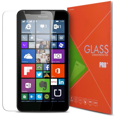 Glass Pro+ Ultra HD 9H 0.33 mm Tempered Glass Screen Protector for Microsoft Lumia 640 XL