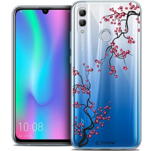 "Extra Slim Crystal Gel Huawei Honor 10 LITE (5.8"") Case Summer Sakura"