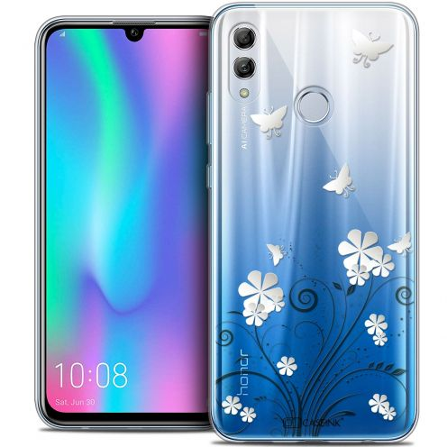 "Extra Slim Crystal Gel Huawei Honor 10 LITE (5.8"") Case Summer Papillons"