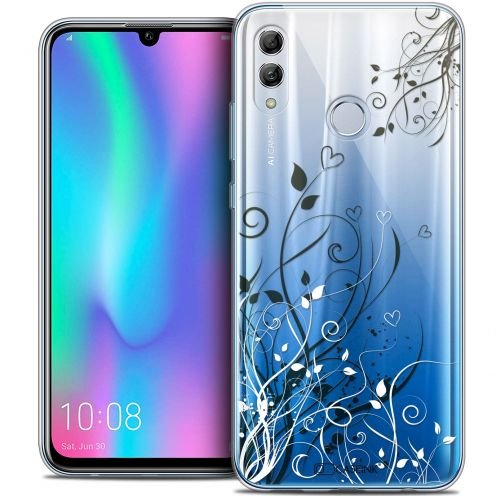 "Extra Slim Crystal Gel Huawei Honor 10 LITE (5.8"") Case Love Hearts Flowers"