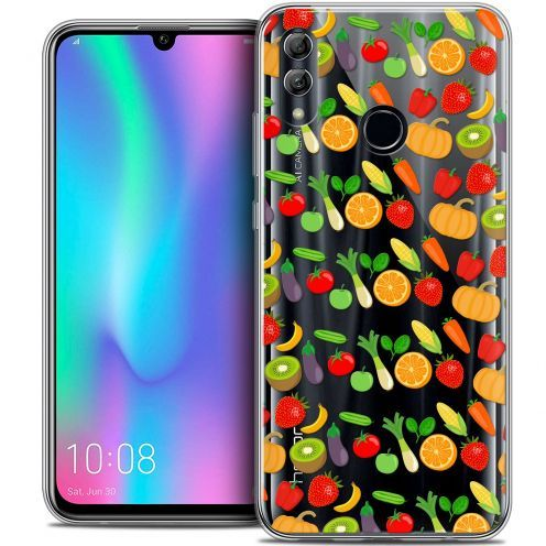 "Extra Slim Crystal Gel Huawei Honor 10 LITE (5.8"") Case Foodie Healthy"