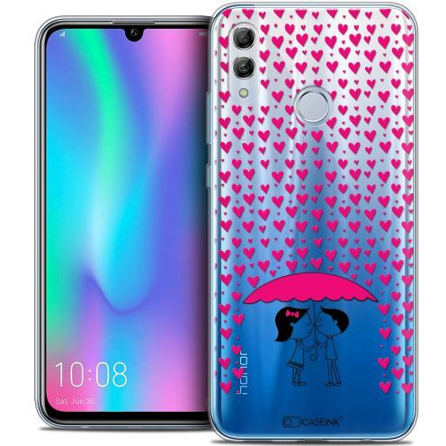 "Extra Slim Crystal Gel Huawei Honor 10 LITE (5.8"") Case Love Pluie d'Amour"