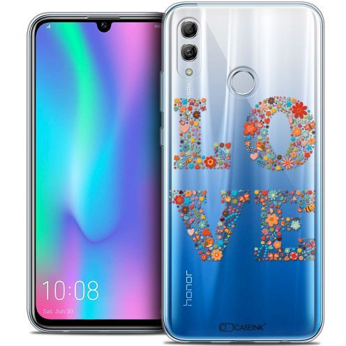 "Extra Slim Crystal Gel Huawei Honor 10 LITE (5.8"") Case Summer Love Flowers"