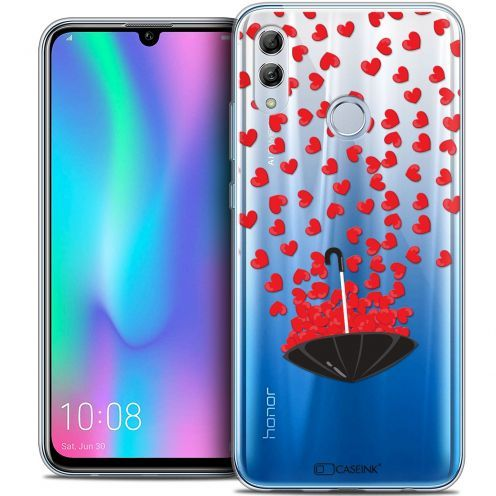 "Extra Slim Crystal Gel Huawei Honor 10 LITE (5.8"") Case Love Parapluie d'Amour"