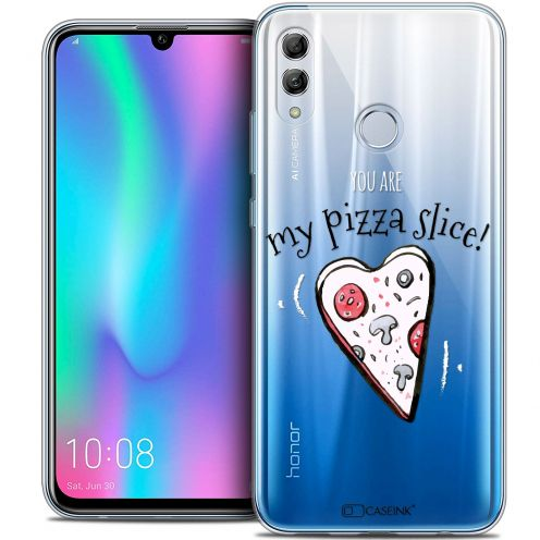 "Extra Slim Crystal Gel Huawei Honor 10 LITE (5.8"") Case Love My Pizza Slice"