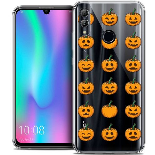 "Extra Slim Crystal Gel Huawei Honor 10 LITE (5.8"") Case Halloween Smiley Citrouille"