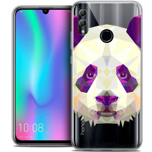 "Extra Slim Crystal Gel Huawei Honor 10 LITE (5.8"") Case Polygon Animals Panda"