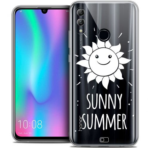"Extra Slim Crystal Gel Huawei Honor 10 LITE (5.8"") Case Summer Sunny Summer"