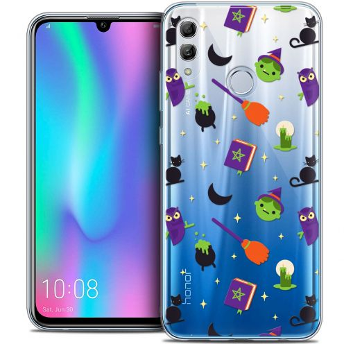 "Extra Slim Crystal Gel Huawei Honor 10 LITE (5.8"") Case Halloween Witch Potter"