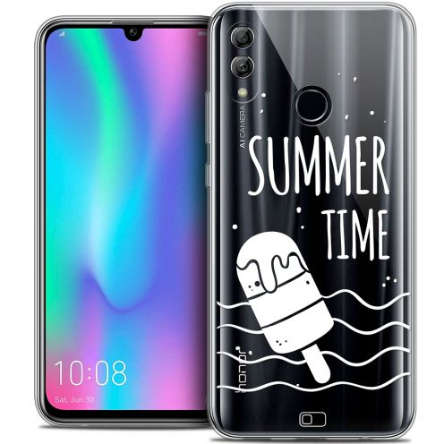 "Extra Slim Crystal Gel Huawei Honor 10 LITE (5.8"") Case Summer Summer Time"