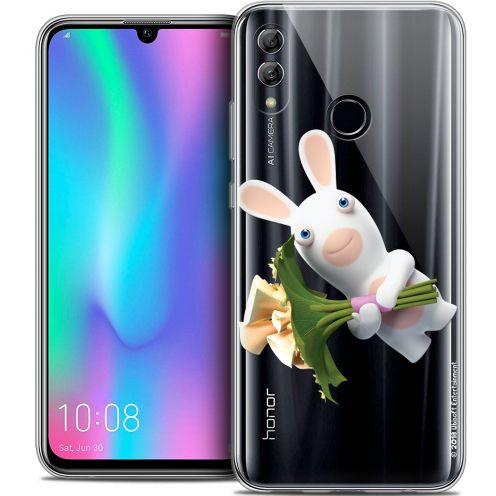 "Crystal Gel Huawei Honor 10 LITE (5.8"") Case Lapins Crétins™ Bouquet Crétin"