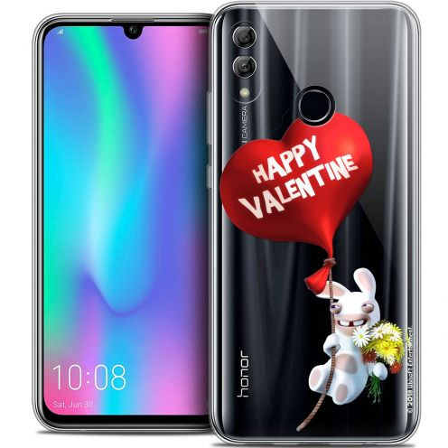 "Crystal Gel Huawei Honor 10 LITE (5.8"") Case Lapins Crétins™ Valentin Crétin"