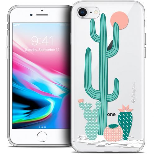 "Extra Slim Crystal Gel Apple iPhone 7 (4.7"") Case Petits Grains® A l'Ombre des Cactus"