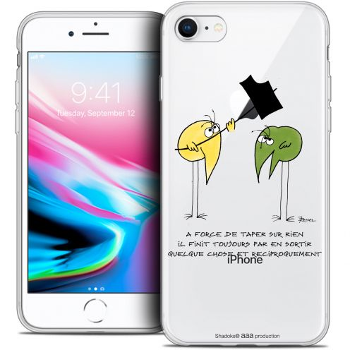 "Extra Slim Crystal Gel Apple iPhone 7 (4.7"") Case Les Shadoks® A Force"
