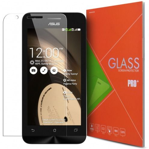Glass Pro+ Ultra HD 9H 0.33mm Tempered Glass Screen Protector for Asus Zenfone C (ZC451CG)
