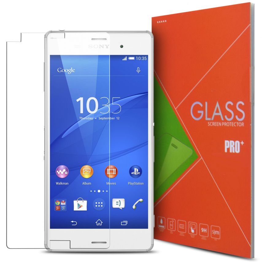 Glass Pro+ Ultra HD 9H 0.33mm Tempered Glass Screen Protector for Sony Xperia Z3 Compact