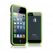 Bumper for iPhone 5 HQ Green / Black