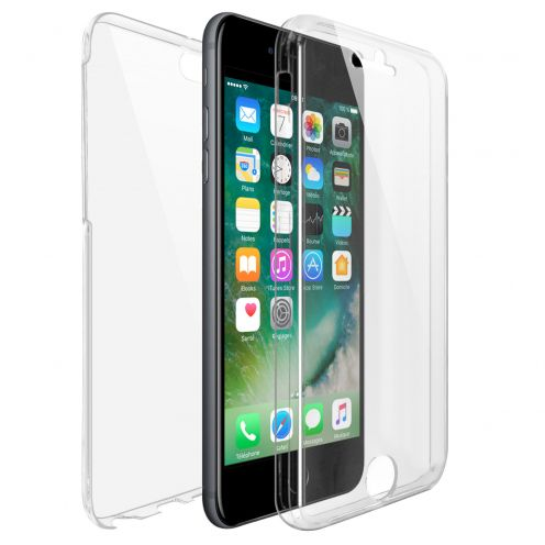 Apple iPhone 7/8 (4.7) TPU Gel Defense 360° Front Back Case - Clear