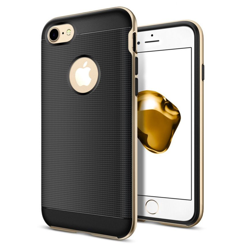 Neo Bumper Hybrid™ Series Case for iPhone 7/8 (4.7) - Champagne Gold
