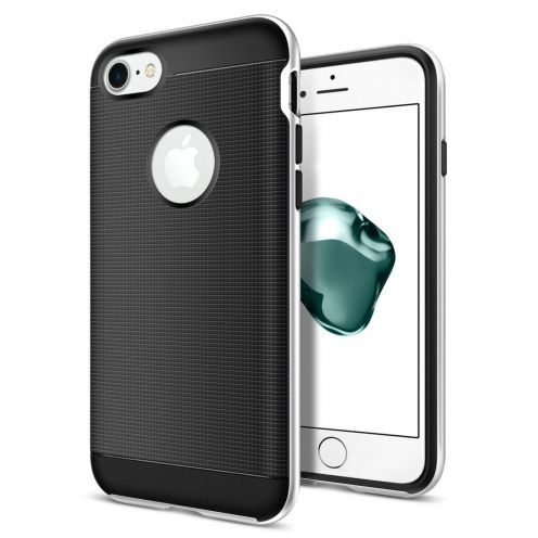 Neo Bumper Hybrid™ Series Case for iPhone 7/8 (4.7) - Silver