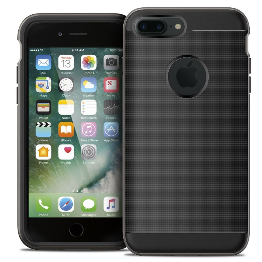 Neo Bumper Hybrid™ Series Case for iPhone 7/8 Plus/+ (5.5) - Black Night