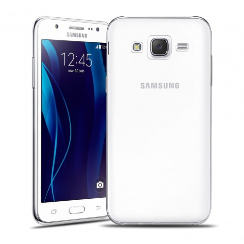Ultra thin 0.5 mm Crystal Clear View Flexible Case for Samsung Galaxy J5