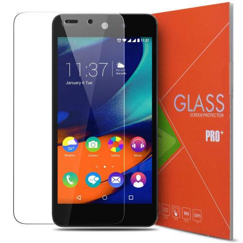 Glass Pro+ Ultra HD 9H 0.33mm Tempered Glass Screen Protector for Wiko Rainbow Up